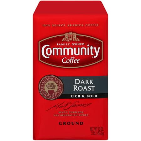 Coffee 16 Oz Jar (Community® Coffee Dark Roast Ground Coffee 16 oz.)