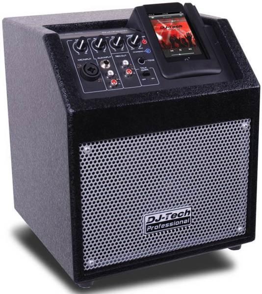 """DJ-Tech iCube 50 Public Address System 50 W Amplifier - 5"""" Woofer"""