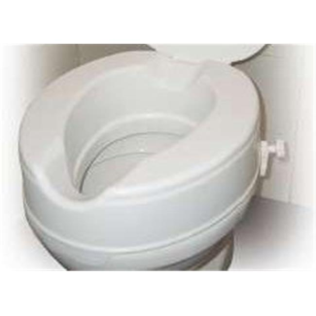 Raised Toilet Seat Without Lid - 2 Inches