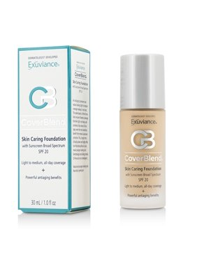CoverBlend Skin Caring Foundation SPF20 - # True Beige-30ml/1oz