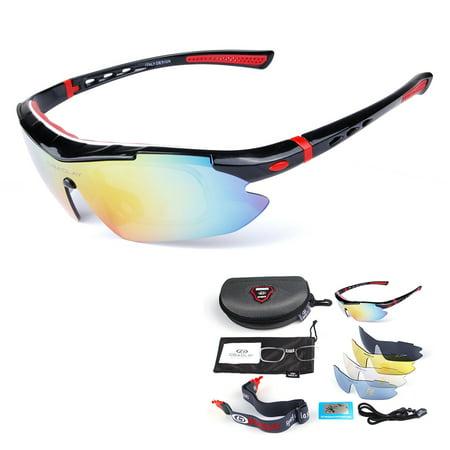 Polarized Cycling Sunglasses Bike Bicycle UV400 Goggles Sports Driving Fishing Skating Traveling Eyewear (Best Fly Fishing Glasses)