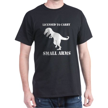 T-Rex Small Arms Carry License Dinosaur T-Shirt - 100% Cotton - Dinosaur Suits