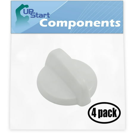 4 Pack Replacement Control Knob WB03T10282 for General Electric JB620DR1WW Range - image 4 de 4