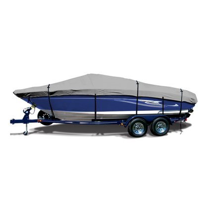 SavvyCraft Pro Bass Style Fishing O/B Trailerable Boat Cover 16'6