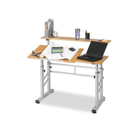 Safco Height Adjustable Split Level Drafting Table