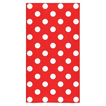 ZKGK Polka Dot Bath Towels Beach Bathroom Body Shower Towel 30