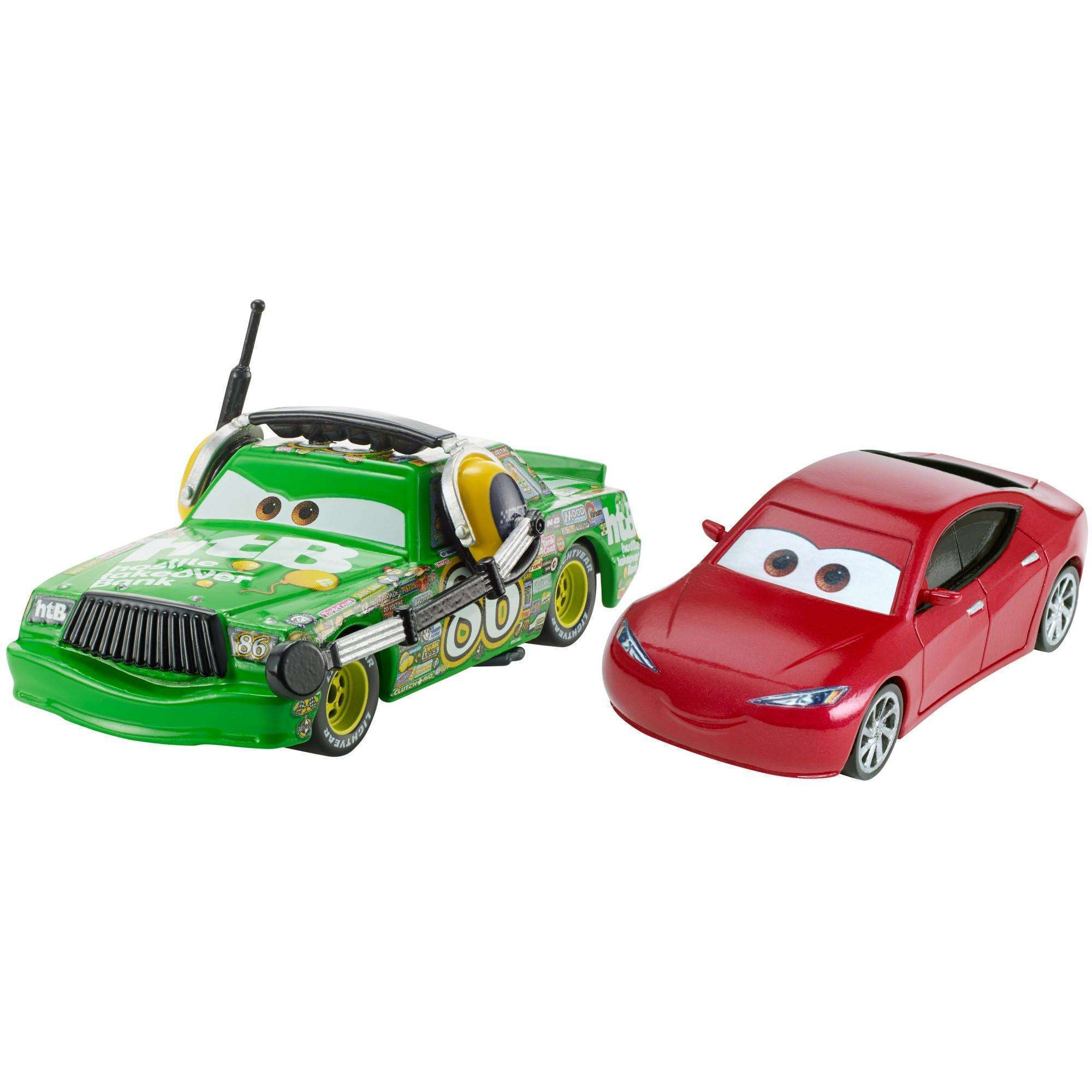 Disney/Pixar Cars 3 Chick Hicks with Headset & Natalie Certain Die-cast Vehicle 2-Pack