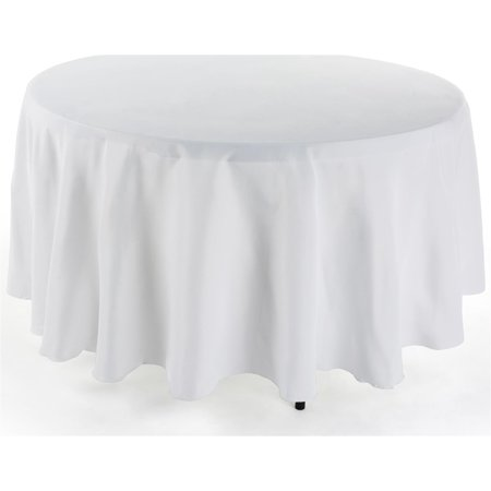 Displays2go Round Tablecloth Fits 48 Quot 4 Foot To 72 Quot 6