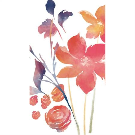 Paper Guest Towel, 15 count, Boho Watercolor Floral