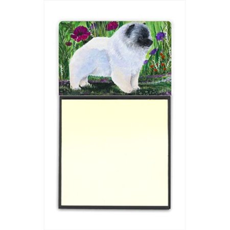 Keeshond Refiillable Sticky Note Holder or Postit Note Dispenser, 3 x 3 -