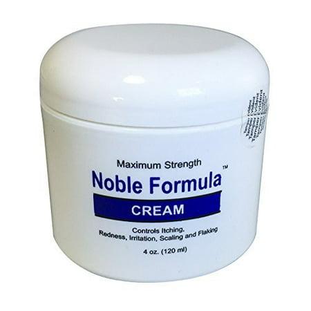 Noble Formula Zinc Cream   Pyrithione Zinc  Znp   4 Oz  120Ml   Especially Fo