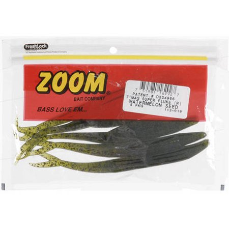 Zoom Mag Super Fluke, Watermelon Seed