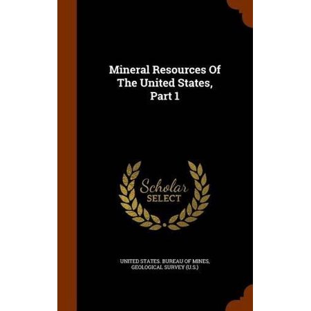 Mineral Resources of the United States, Part 1 - image 1 of 1