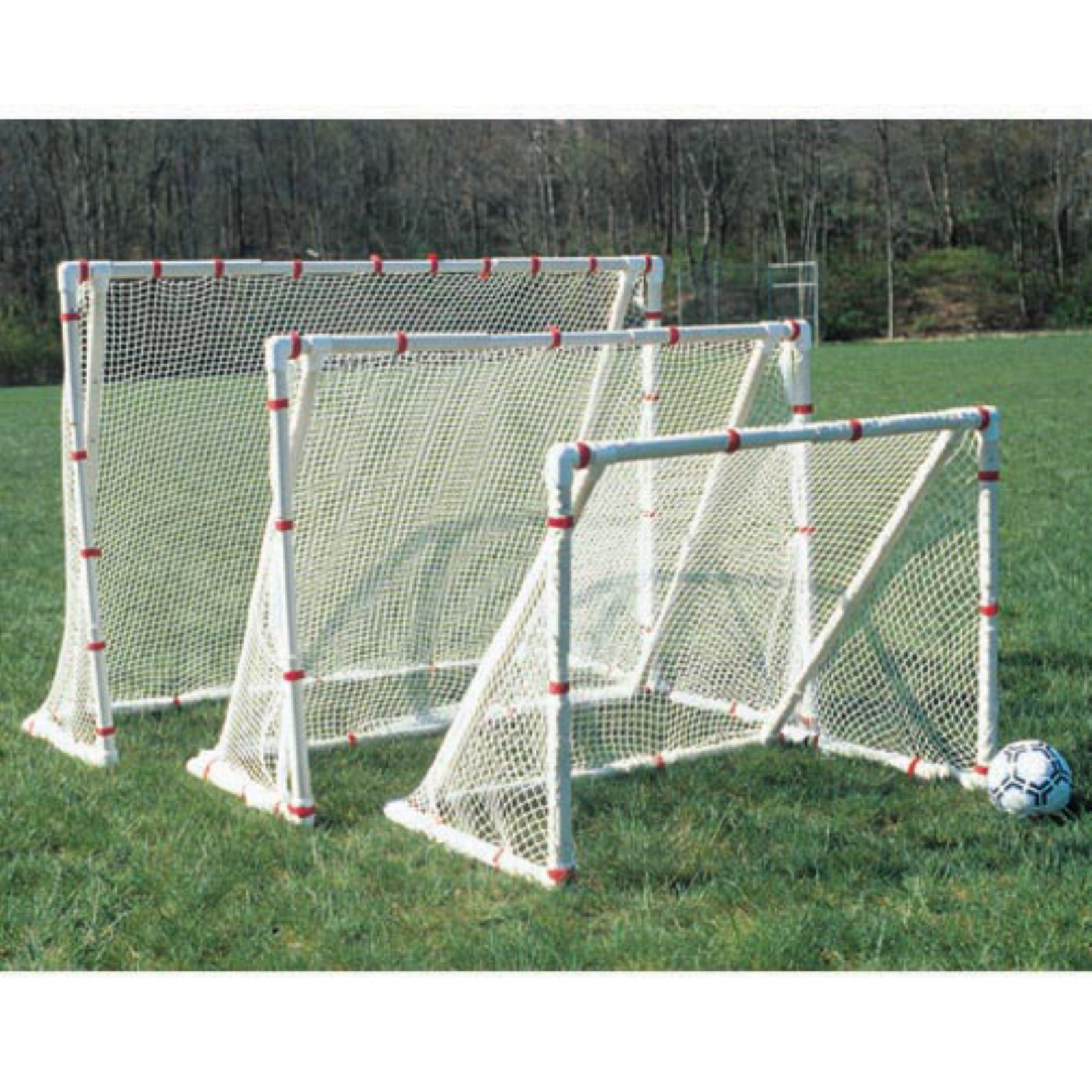 Goal Sporting Goods Striker PVC Telescoping Soccer Goal