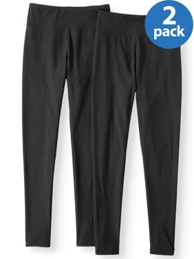 No Boundaries Juniors' sueded jersey leggings 2-pack value bundle