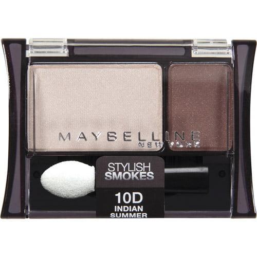 Maybelline Expert Wear Stylish Smokes Eyeshadow Duos, 10D Indian Summer, 0.08 oz