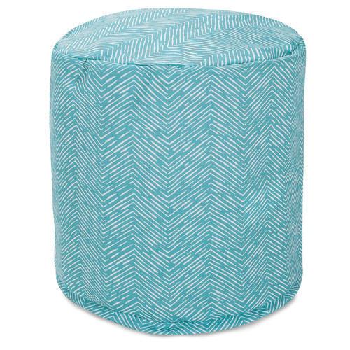 Majestic Home Goods Navajo Small Pouf Ottoman