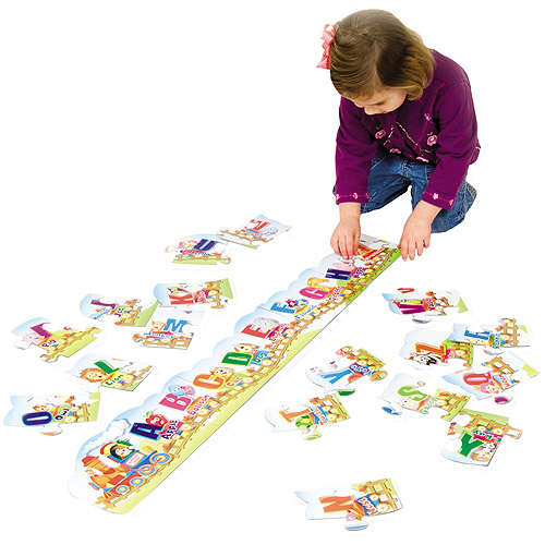 Creativity Street Alphabet Train Floor Puzzle, 27 Pieces