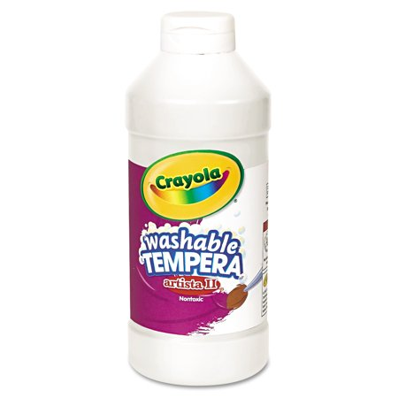 Crayola artista ii washable tempera paint, 16 oz, available in multiple colors (Pack of 2)