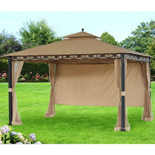 SunJoy Replacement Canopy for 10' W x 12' D Smith and Haw...