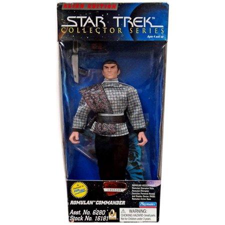 Star Trek The Original Series Romulan Commander Action Figure Star Trek Romulan Ships