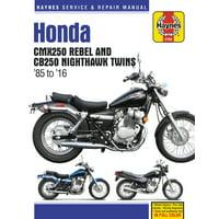Honda CMX250 Rebel and CB250 Nighthawk, 1985-2016 Haynes Repair Manual