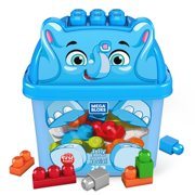 Mega Bloks First Builders Jolly Elephant with Big Building Blocks, Building Toys for Toddlers (25 Pieces)