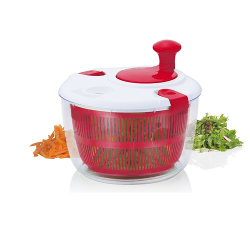 Brilliant Veggie Salad Spinner by