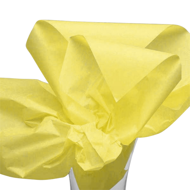 "Daffodil Yellow Tissue Papers 20"" X 26"" 