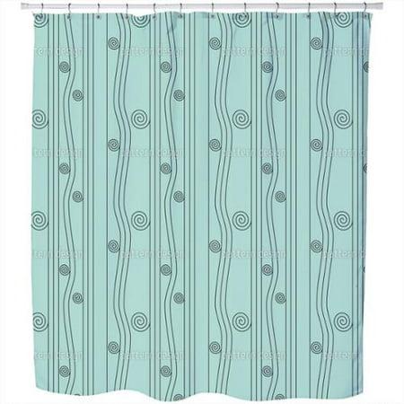 uneekee ligne nouveau shower curtain. Black Bedroom Furniture Sets. Home Design Ideas