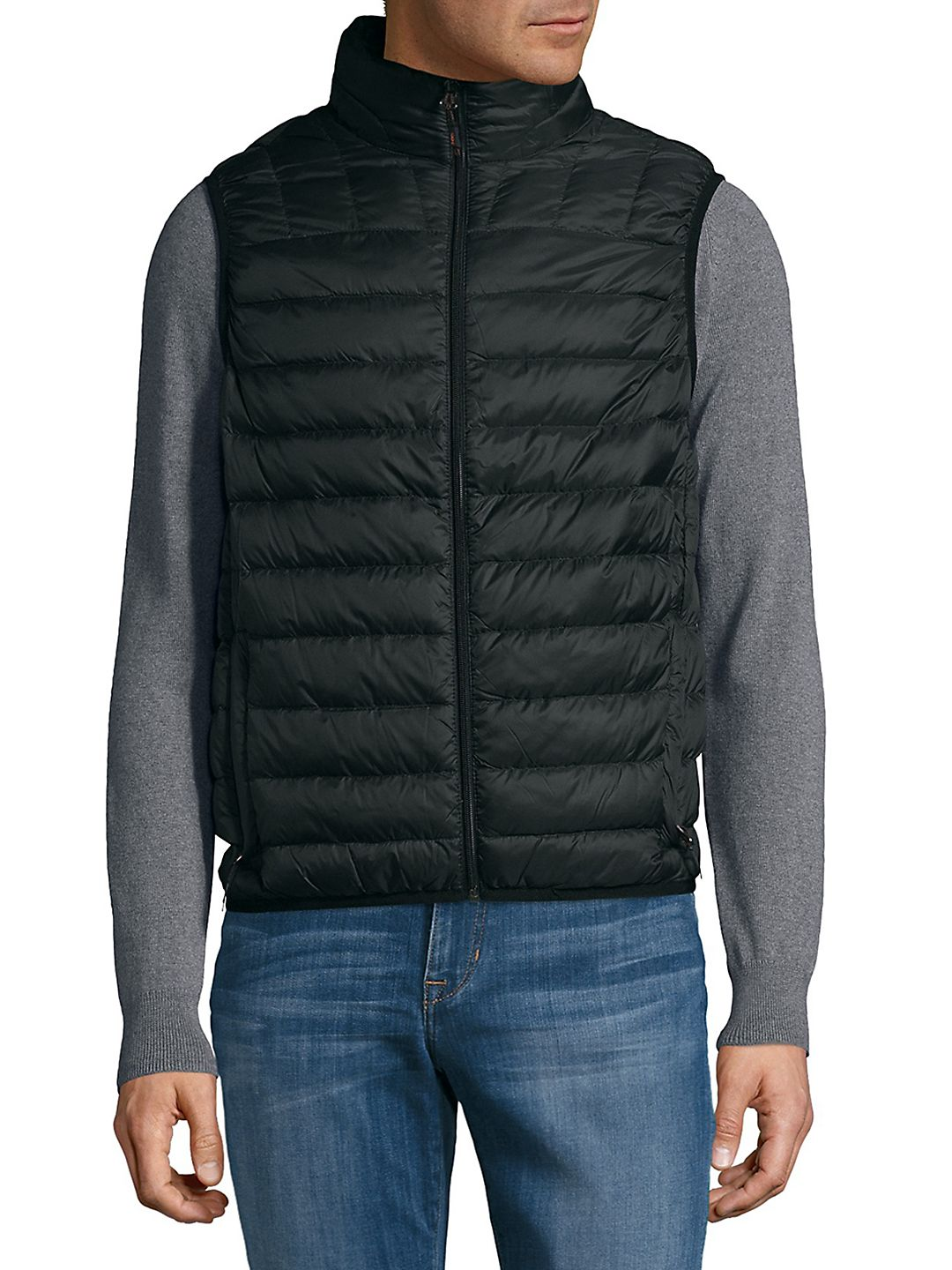 Packable Ombre Puffer Vest