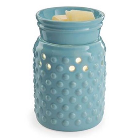 Hobnail Midsized Illumination Small Fragrance Warmer by Candle Warmers Etc.