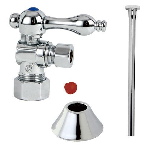 Kingston Brass Trimscape Traditional Plumbing Toilet Trim Kit