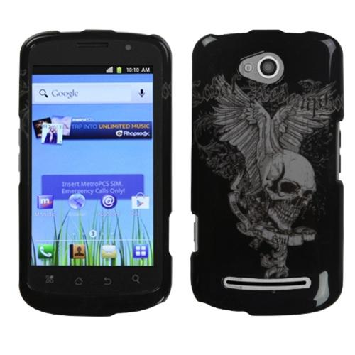 Insten Skull Wing Phone Case for COOLPAD: 5860E (Quattro 4G)