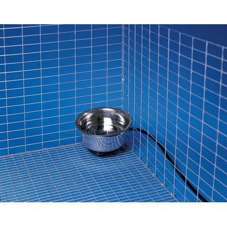 Allied Precision Bowl (Allied Precision 90 1 qt Stainless Steel Heated Pet Bowl with Hutch)