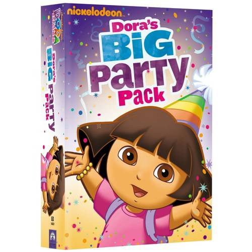 Dora The Explorer: Dora's Big Party Pack (Full Frame)