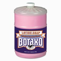 Boraxo Liquid Lotion Soap, Pink, Floral Fragrance, 1gal Bottle, 4/Carton