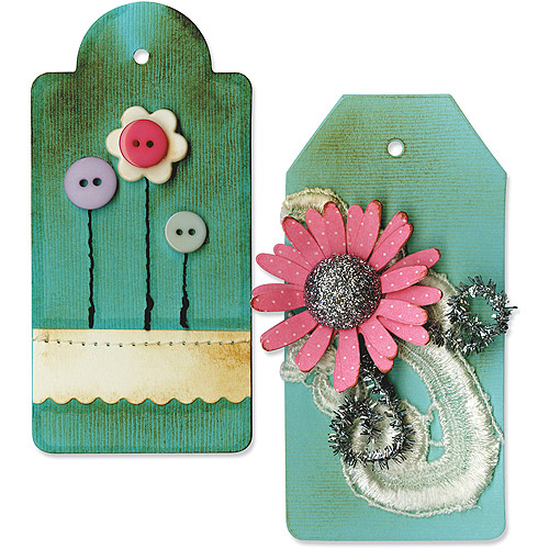 Sizzix Bigz BIGkick/Big Shot Die, Tags No.3 Multi-Colored