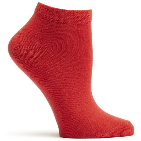 Ozone Socks - Pima Cotton Ankle Zone Sock - Cherry