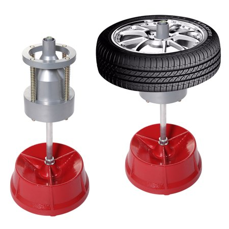 JAXPETY Pro Portable Hubs Wheel Balancer W/ Bubble Level Heavy Duty Rim Tire Cars