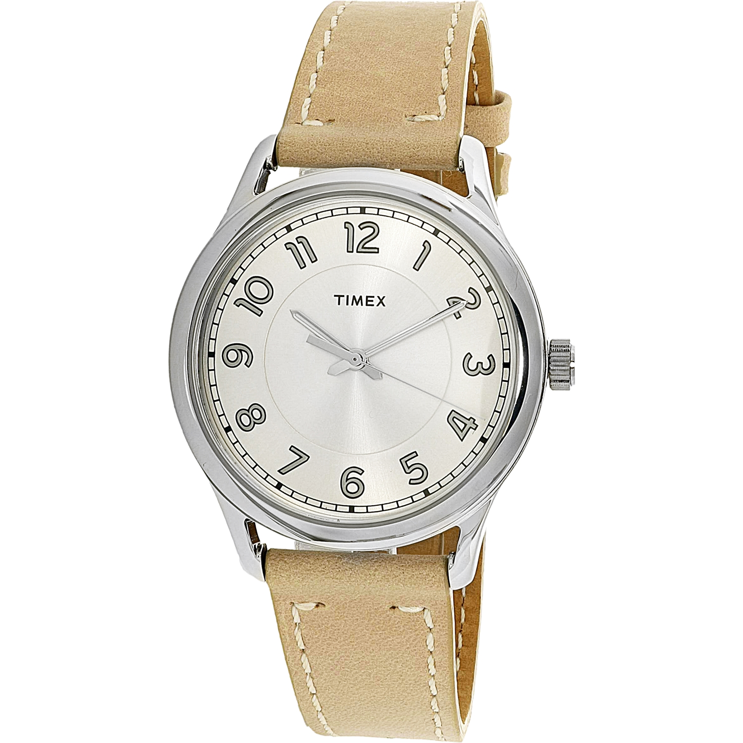 Timex Women's TW2R23200 Tan Leather Analog Quartz Fashion Watch