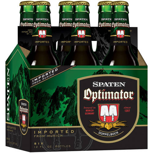 Spaten Optimator Bock, 6 pack, 12 fl oz