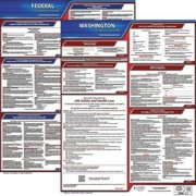 JJ KELLER 100-WA-K Labor Law Poster Kit, WA, English, 19 In. W