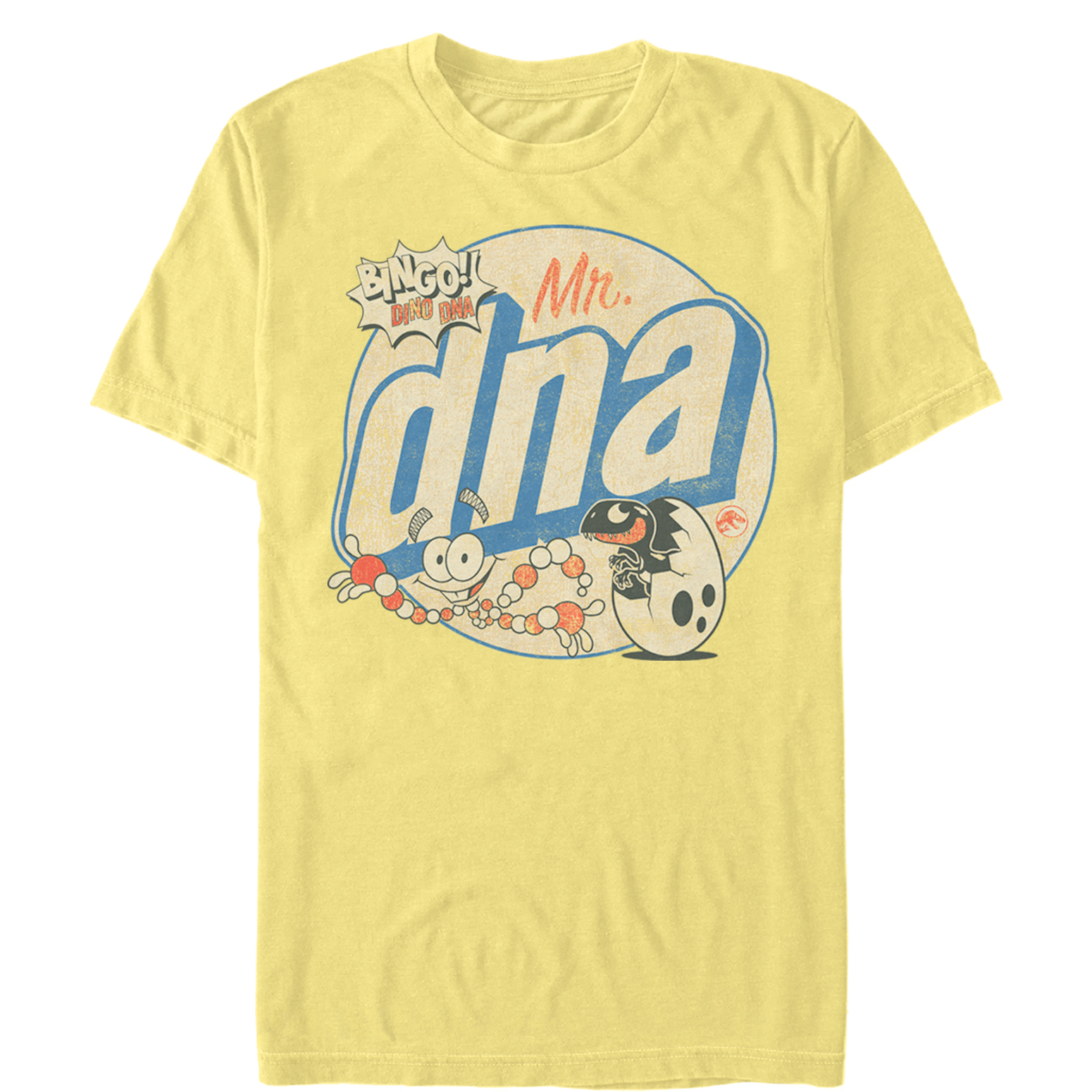 Jurassic Park Mr Dna Retro Movie T Shirt