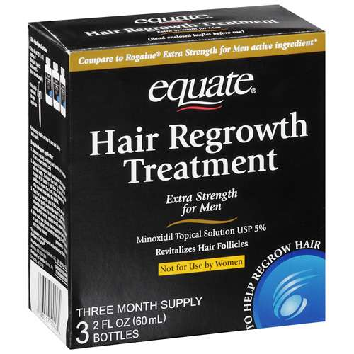 Equate Extra Strength For Men Hair Regrowth Treatment,1 ct