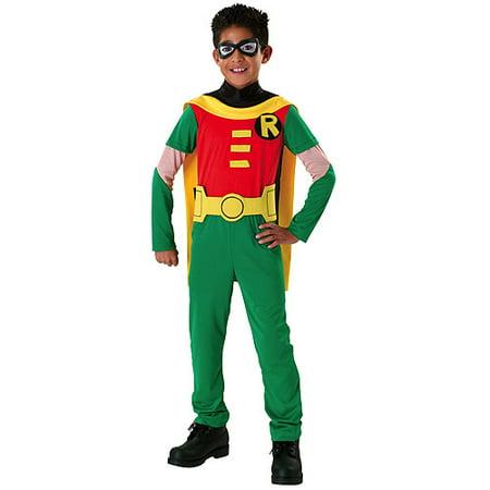 Teen Titan Robin Child Halloween Costume - Teen Titan Robin Child Halloween Costume - Walmart.com
