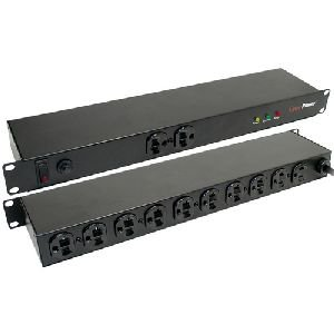 CyberPower Rackmount CPS-1220RMS 20A PDU - 12 x NEMA 5-20R - 2400VA - 1U 19