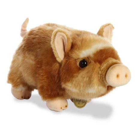 Aurora World Plush - Miyoni - POT-BELLIED PIGLET (Brown/Tan)(Medium - 11 (Medium Brown Puppy)
