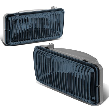 02 Blazer Rear Bumper (For 1998 to 2004 Chevy S10 / Blazer Pair Front Bumper Driving Fog Light / Lamps Smoked Lens 99 00 01 02 03 Left+Right)