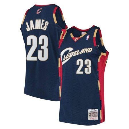 cheaper b827d 039e7 Mitchell & Ness NBA Cavaliers Jersey James